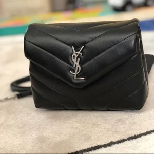 917e83a7f1dd Yves Saint Laurent Bags - YSL toy LouLou calfskin leather crossbody bag